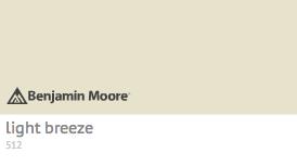 Benjamin Moore Light Breeze 512