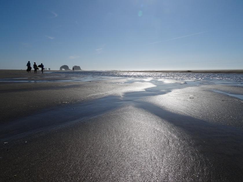 Rockaway Beach. photo by Laura Dedon Oxford.