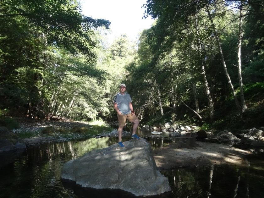 Juan Hiquera Creek in Big Sur