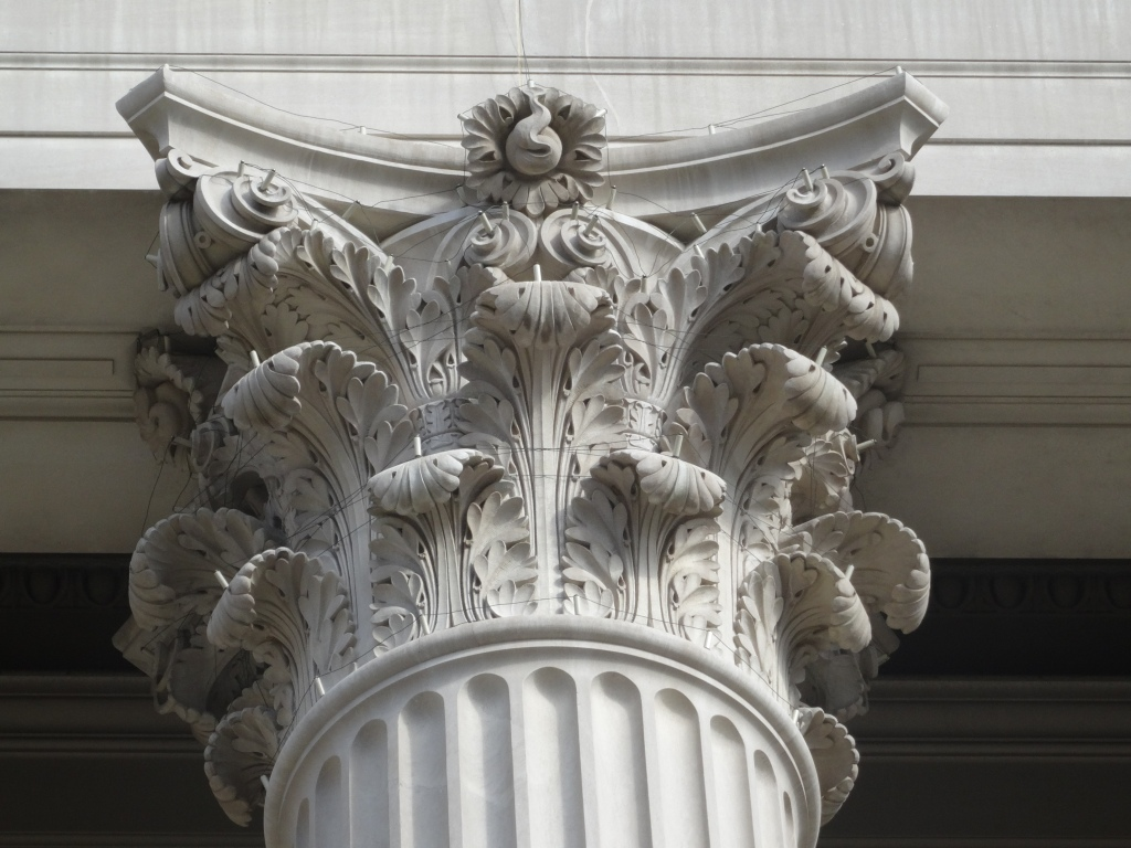Column on the National Archives.