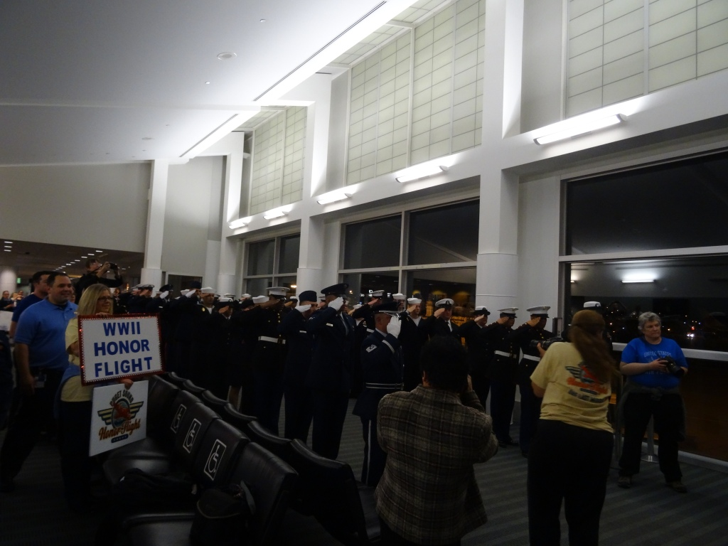 Honor Flight Honor Guard.