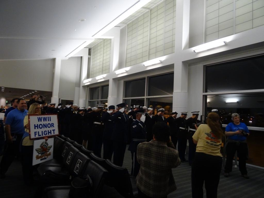 Honor Flight Honor Guard.